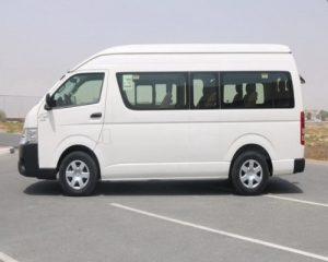 Toyota Hiace Van Car Rental Alor Setar Airport